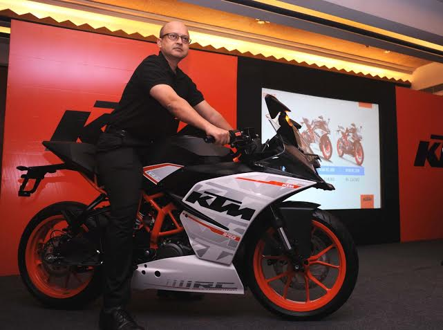 bajaj auto launches ktm rc390 and rc 200 in kolkata | indiablooms