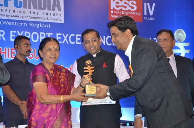 Shakti Pumps bags export award for Special Contribution from EEPC