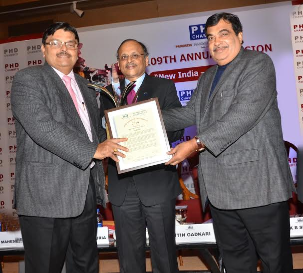 SAIL awarded Good Corporate Citizen Award 2014 by PHD Chamber