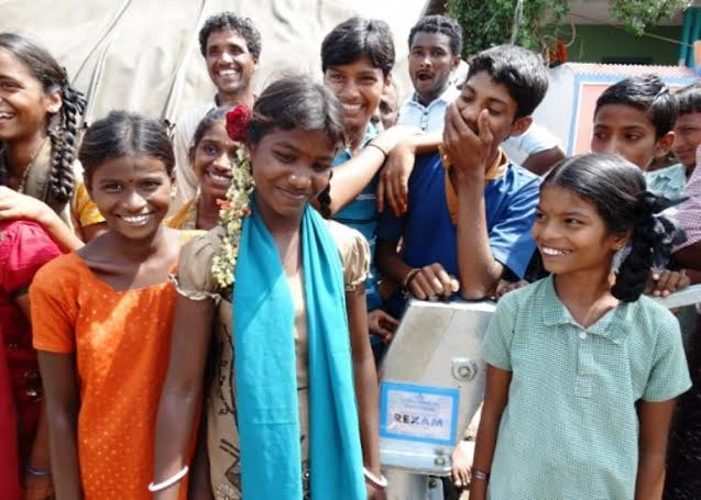 Rexam builds three fresh water wells for West Bengal and