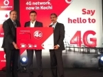 Vodafone's 4G roll out begins in Kochi