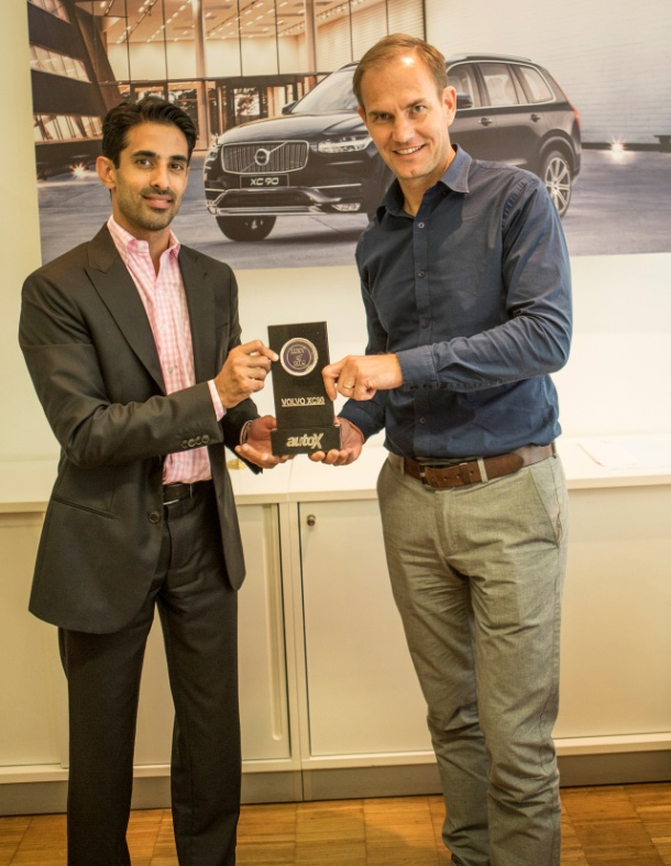 Volvo XC90 drives away with the top honour at AutoX Awards