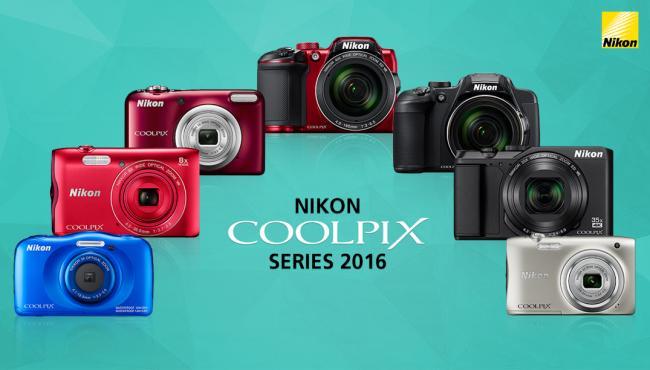 Nikon brings incredible array of COOLPIX Series 2016 to celebrate festive season