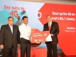 Vodafone SuperNet 4G on superior 1800 MHz launched in Gujarat