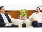 Newly appointed Chairman of J&K Bank calls on Dr Jitendra Singh