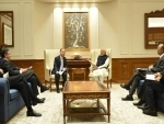 Soft Bank CEO meets Narendra Modi