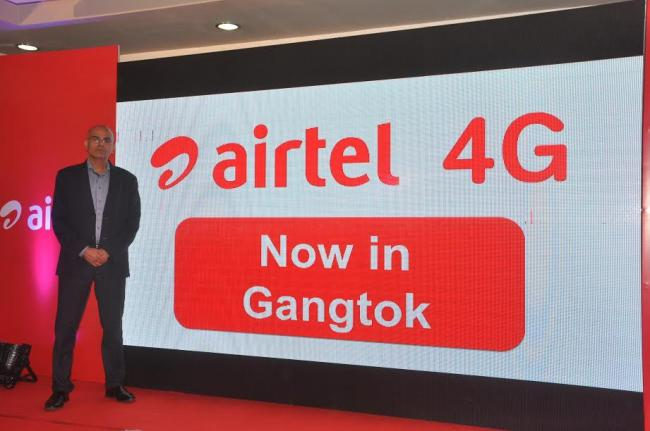 Airtel launches 4G in Sikkim