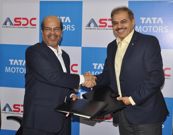 Tata Motors signs MoU with Automotive Skills Development Council