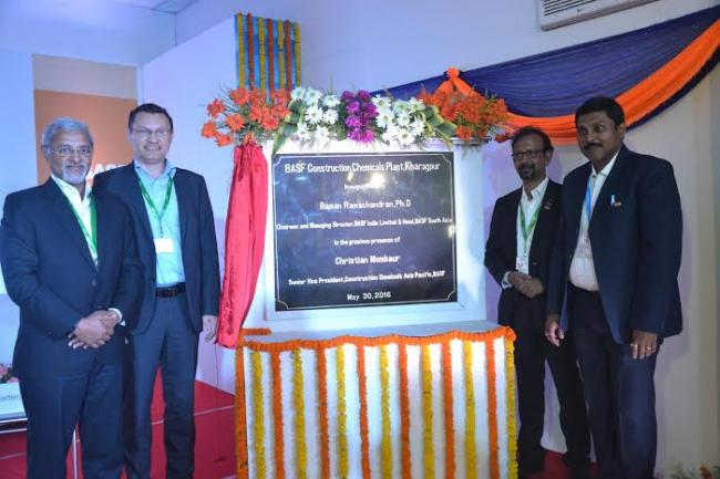 BASF India opens new concrete admixtures plant in Kharagpur