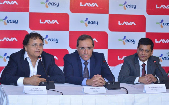 Lava enters Egypt, sign MoU with Easy Group