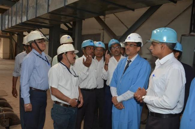 SAIL Chairman PK Singh interacts with SAIL collective