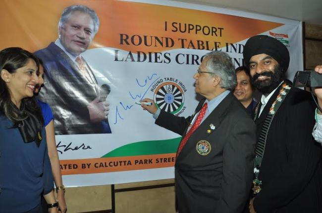 Shiv Khera appointed as brand ambassador of Round Table India & Ladies Circle India