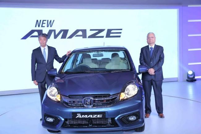 Honda Cars India Limited Launches New Amaze