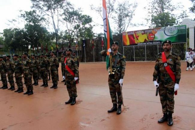 Indo-Sri Lanka joint military exercise Mitra Shakti 2016 begins in Ambepussa