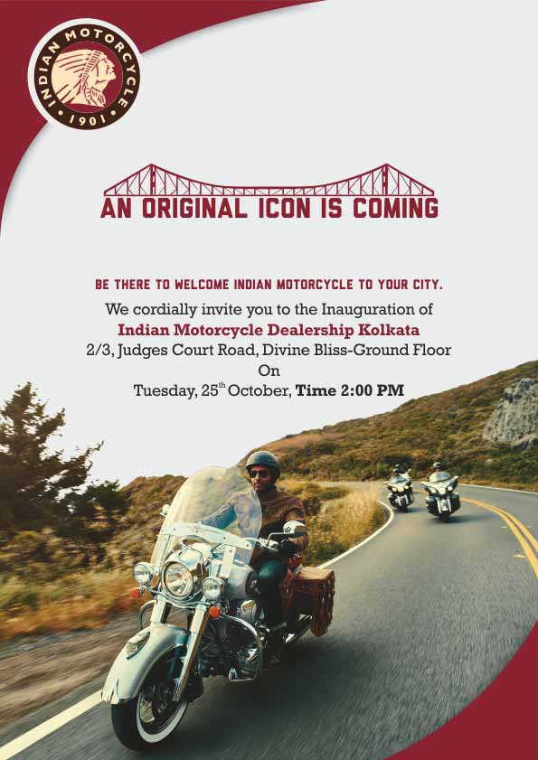 Polaris India launches Indian Motorcycle dealership in Kolkata