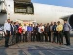 Mumbai-Kabul air-freight corridor inaugurated; first cargo flight lands at Mumbai Airport