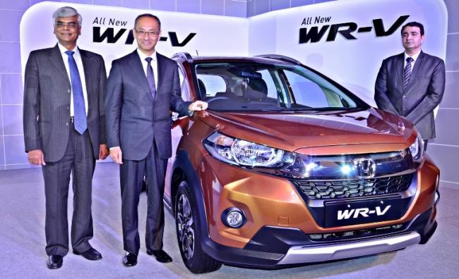 In two weeks Honda WRV booking crosses 4500: CEO