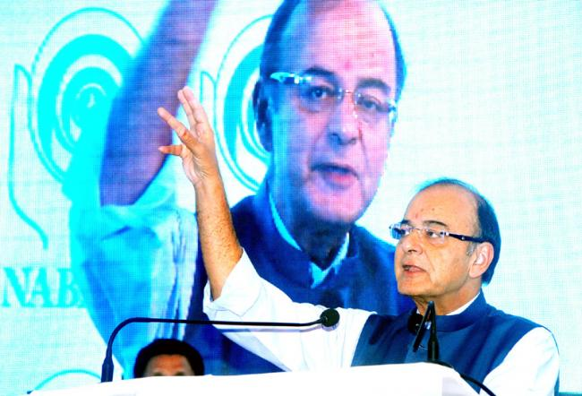 Arun Jaitley holds his 7th pre-budget consultation meeting with bank representatives