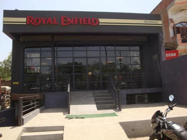 Hardoi's Royal Enfield showroom goes all-solar