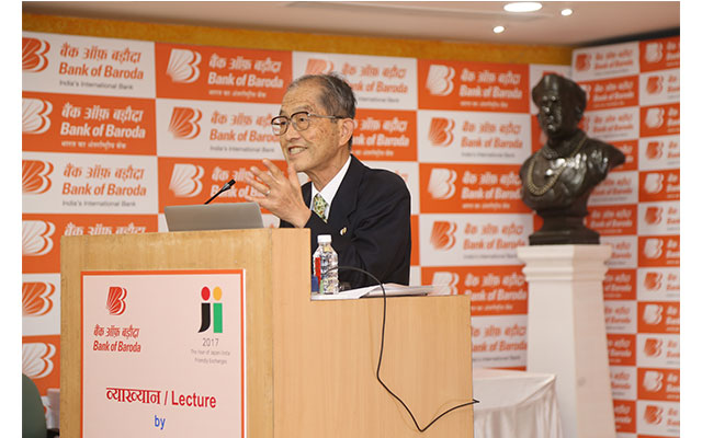 Bank of Baroda hosts Japanese scholar Dr. Mizokami