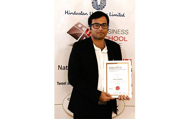 Brand Communicator Mahul Brahma wins Brand Leadership Award 2017