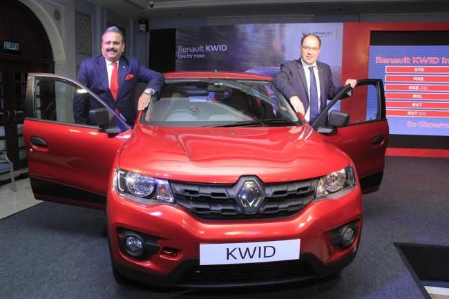 Renault India registers sales of 11,244 units in December 2016