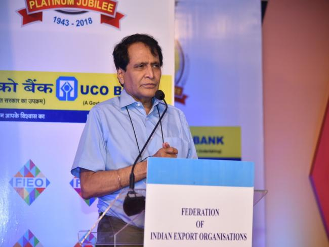 India's exports record highest growth in 2017-18: Suresh Prabhu