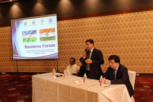 India hosts business forum for new opportunities in Uzbekistan