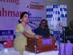 Bengal Chamber organises musical evening with Shama Rahman
