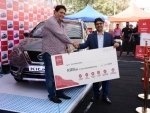 Nissan felicitates the first Kicks customer of Pune at the 10th edition of 'Happy with Nissan'