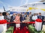 Jet Airways receives first 737 MAX airplane from Boeing