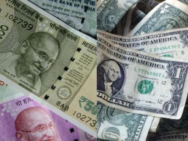 Rupee plunges 53 paise, closes at 71.85 against US dollar