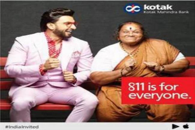 Kotak Mahindra's  #IndiaInvited campaign features Ranveer Singh