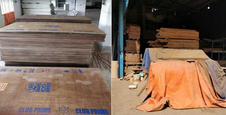 Century Plyboards conducted a raid for counterfeit plywood in Kolkata