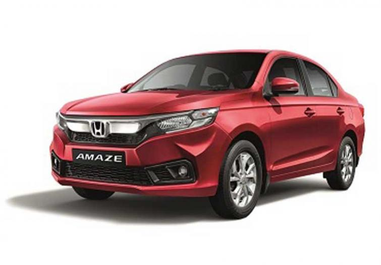 Honda Cars India Introduces New Vx Cvt Grade In Honda Amaze Indiablooms First Portal On Digital News Management