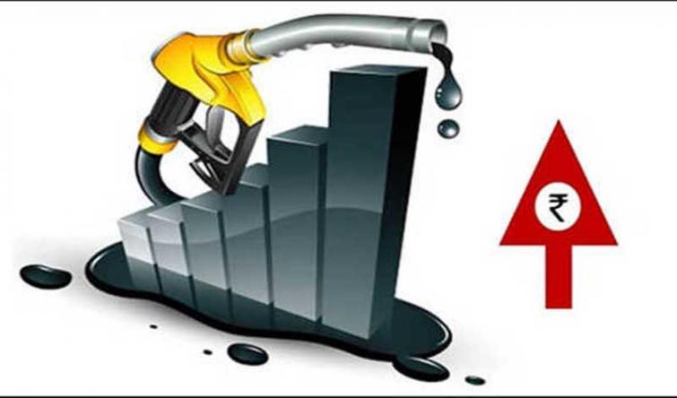 Petrol rises b/w 6-10 p/l; diesel unchanged