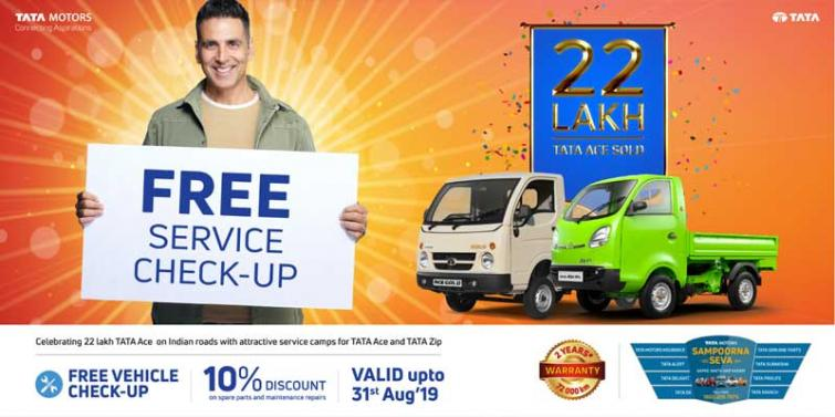 Tata Motors celebrates success of 22 Lakh Tata Ace on Indian roads