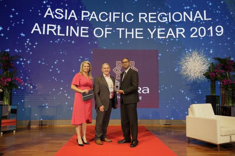 Vistara named 'Regional Airline of the Year' at CAPA Aviation Awardsfor excellence in Singapore