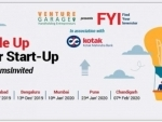 Venture Garage announces Kotak supported FY2019-20 edition of Find Your Investor programme