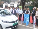 Tata Steel partners with Tata Motors to introduce Tigor EVs for employee transportation in Jamshedpur