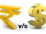 Indian Rupee down by 34 paise against USD