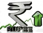 Indian Rupee ends up by 54 paise against USD