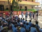 Toyota Kirloskar Motor (TKM) employees spread Christmas cheer to underprivileged school children