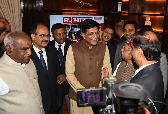Union Minister Piyush Goyal will present interim budget today