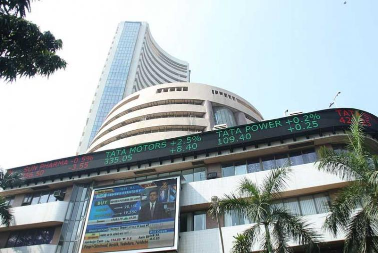 Sensex rises by 373.17 points in week ended April 18