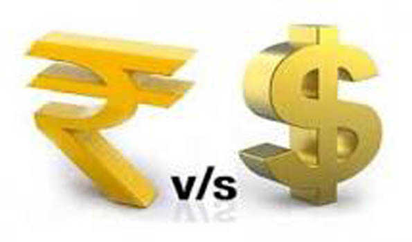 Indian Rupeeup by 15 paise against USD