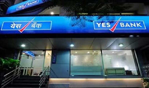 Yes Bank moves down by 9.82 pc to Rs 56