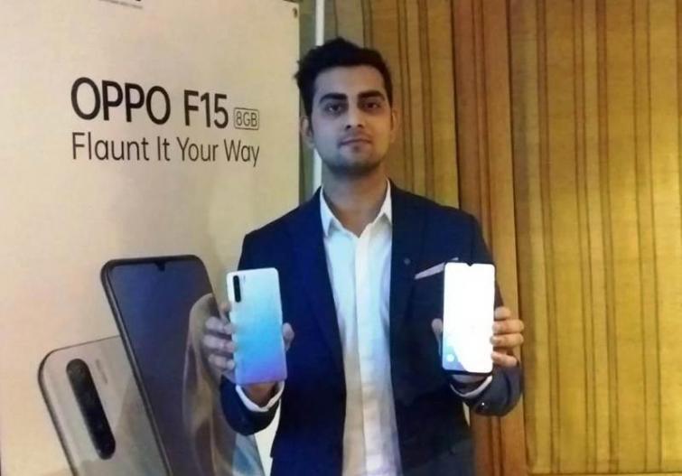Oppo launches F15 smartphone in Kolkata