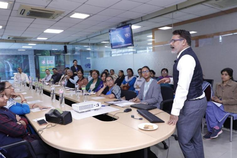 GRSE WIPS cell organizes workshop for its lady employees