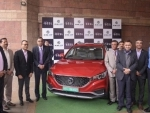 MG Motor India delivers the first ZS EV to EESL